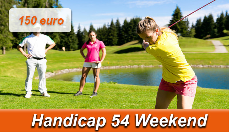 handicap 54 weekend